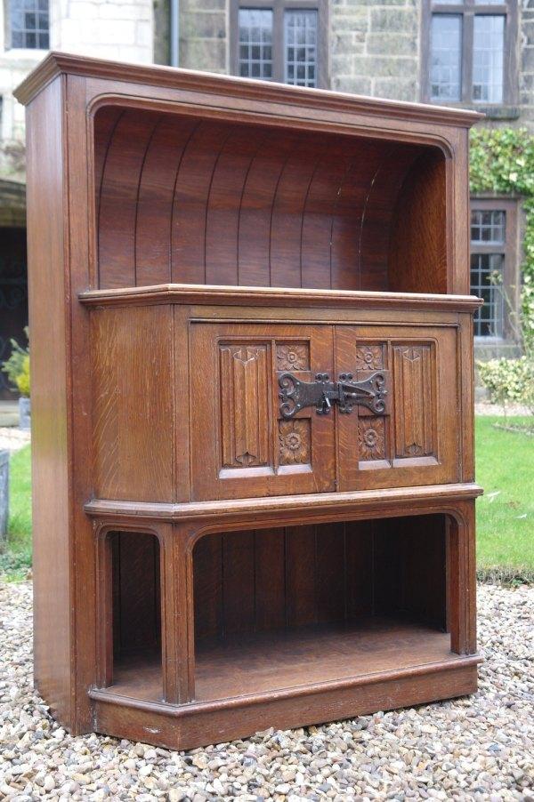 Antique Oak Sideboard Arts and Crafts