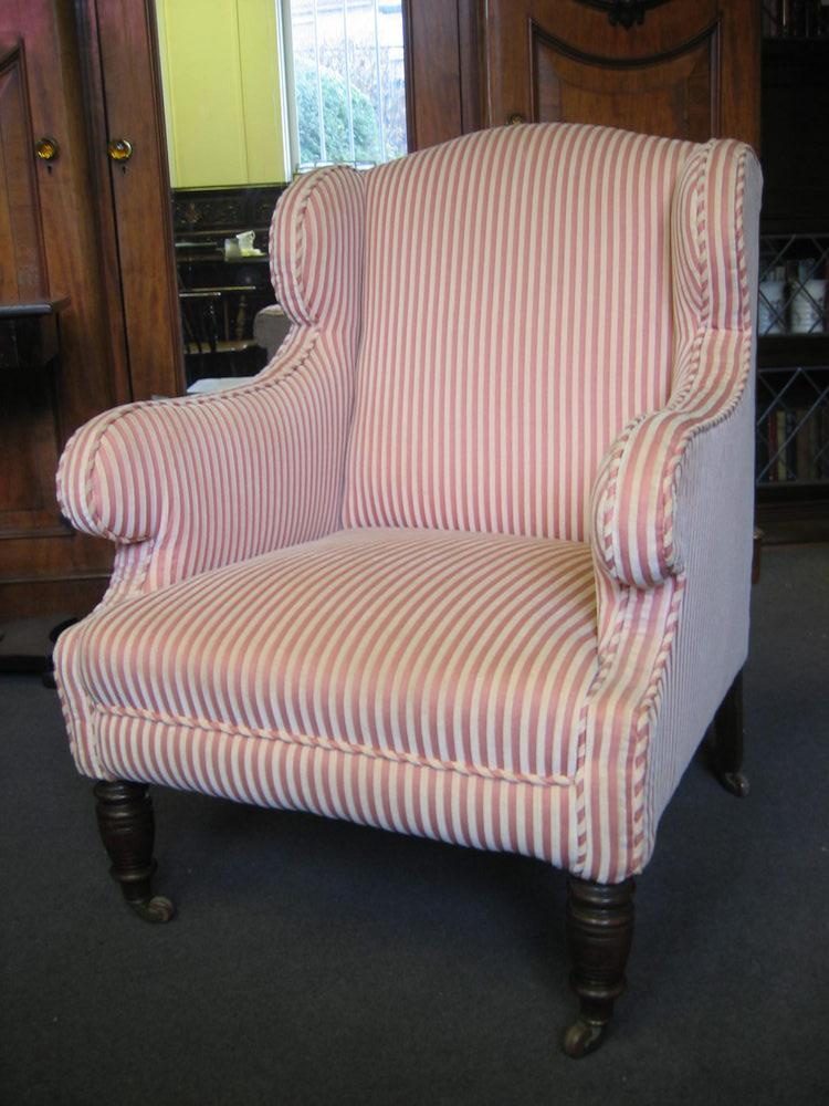 Edwardian Wing Chair Reserved Christine.