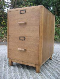 Antiques Atlas - Oak Filing Cabinet