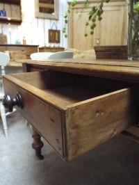 Victorian Pine Farmhouse Table - Antiques Atlas
