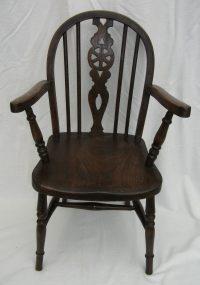 Antique Childs Windsor Chair - Antiques Atlas