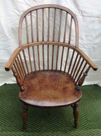 Antique Stick Back Windsor Chair - Antiques Atlas