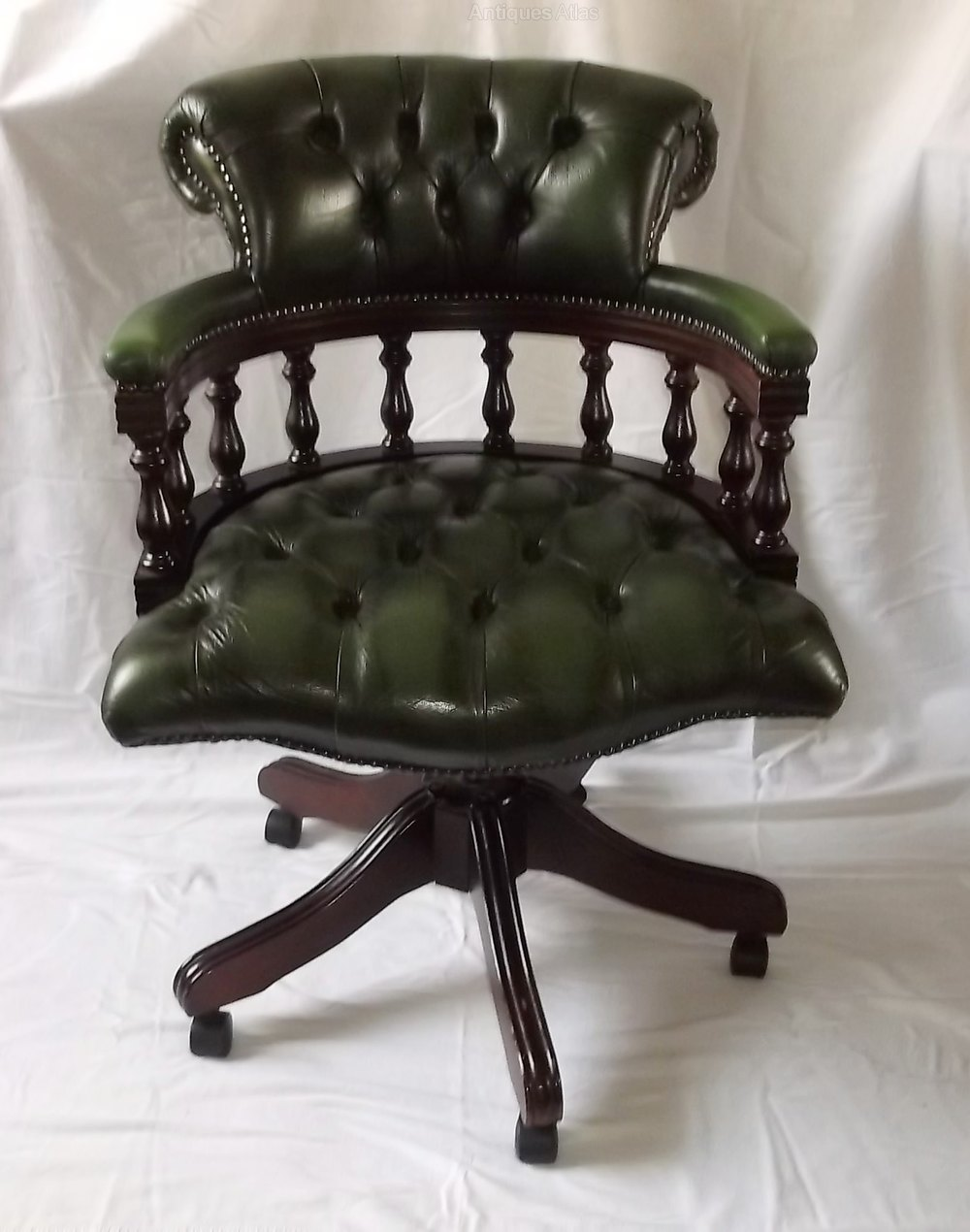 revolving chair in english stacking chairs direct antiques atlas - victorian style leather swivel office