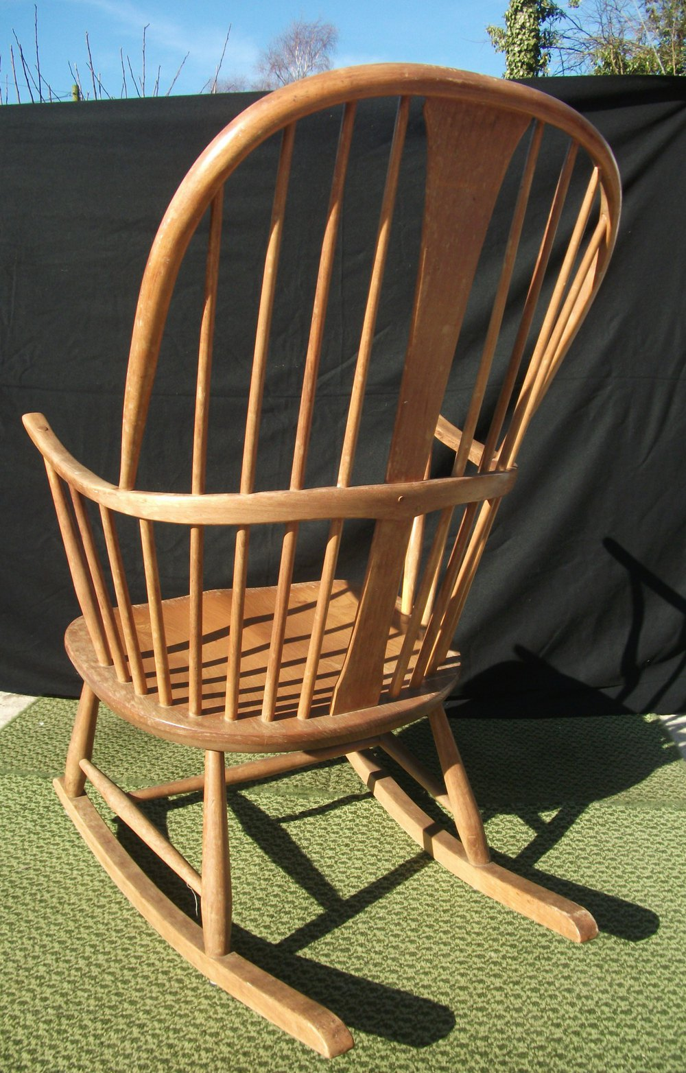 Antiques Atlas  Vintage Ercol Chairmakers Rocking Chair