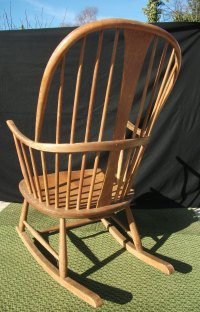 Antiques Atlas - Vintage Ercol Chairmakers Rocking Chair