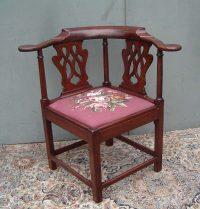 18thCentury Georgian Corner Chair - Antiques Atlas