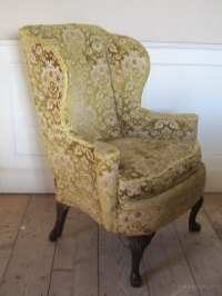 Edwardian Wing Back Armchair - Antiques Atlas