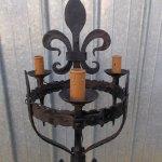 Antiques Atlas Wrought Iron Floor Lamp