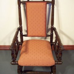 Rocking Chair Antique Styles Red Covers Childs American Style Antiques Atlas