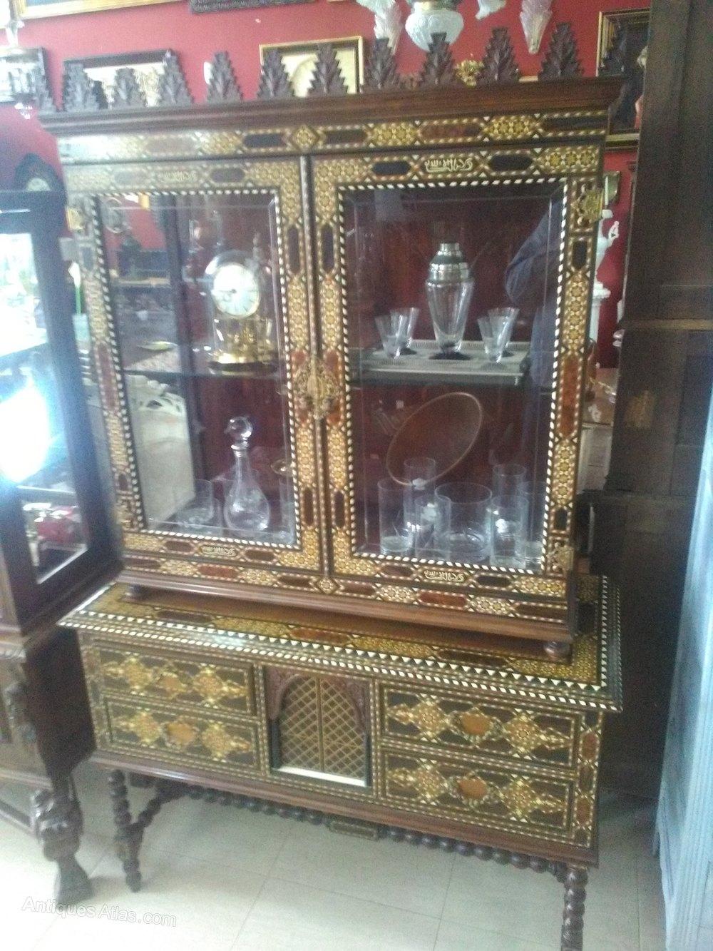 Taracea Cabinet Set 1900 Spanish  Antiques Atlas