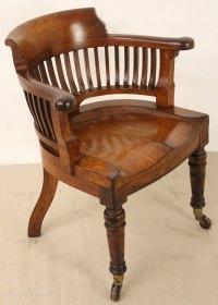 Victorian Desk Chair - Antiques Atlas