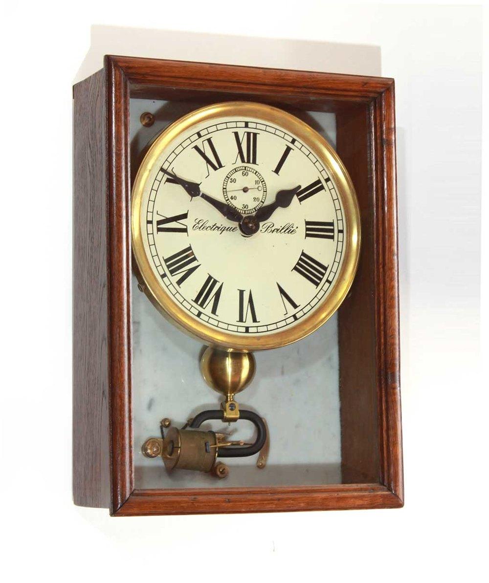 Antiques Atlas Brilli Electric Wall Clock