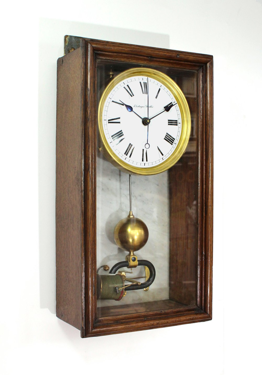 Antiques Atlas Early 20th Century Electromagnetic Wall Clock