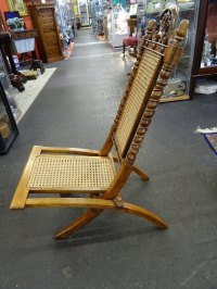 Early 20th Century Campaign Chair. - Antiques Atlas