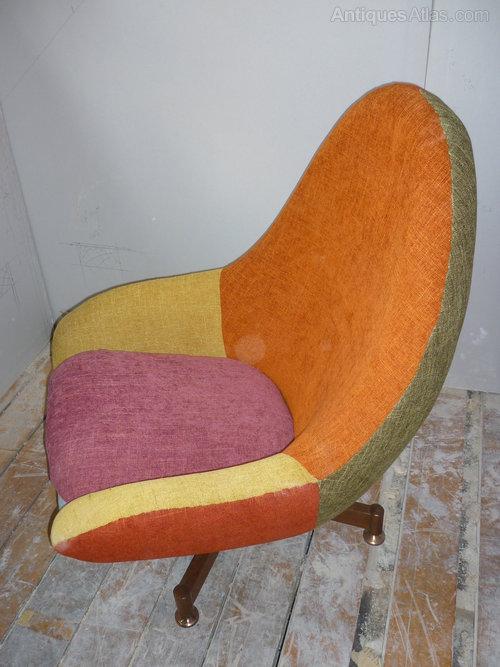 Antiques Atlas  1960s Retro Egg Chair Restored