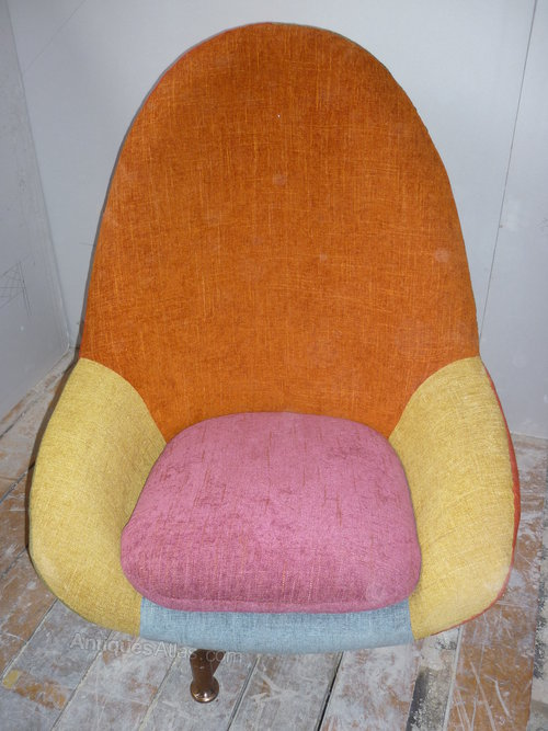 egg chairs for sale chair and a half rocker recliner antiques atlas - 1960's retro restored.