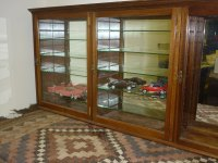 Victorian Shop Display Cabinet, Mirrors & Glass - Antiques ...