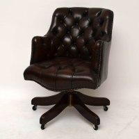 Antiques Atlas - Antique Style Deep Buttoned Leather ...