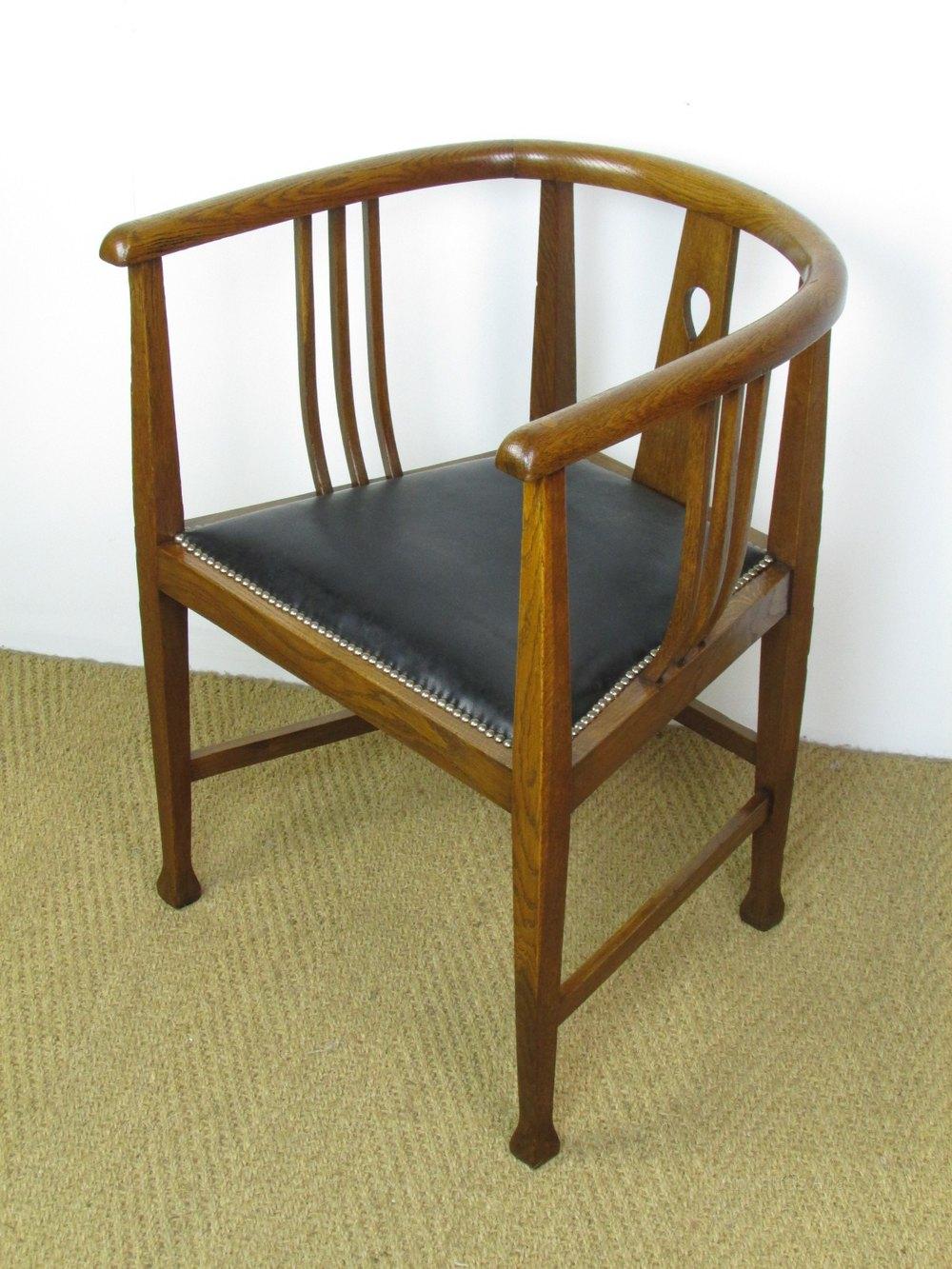 Arts  Crafts Glasgow Style Tub Chair  Antiques Atlas