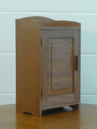 Cotswold Style Bleached Walnut Medicine Cabinet - Antiques ...