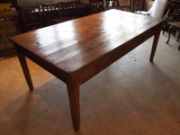 Table Victorian Pine Refectory Farmhouse Dining - Antiques ...