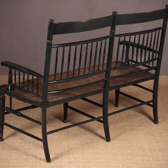 Morris Chairs For Sale Burlap Chair Sashes Diy Arts & Crafts Movement Back Settee C.1880. - Antiques Atlas