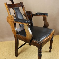 Barber Chair Free Shipping Rental Chairs For Sale Edwardian Barber's Chair. - Antiques Atlas