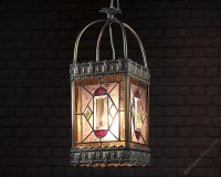 Antiques Atlas - Large Hanging Porch Light Shade C.1880.