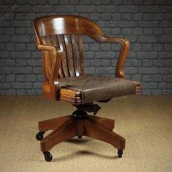 Wh Gunlocke Chair Cheap Modern Chairs Antiques Atlas - Large Walnut Desk By W.h Co.