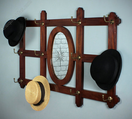 antique hat racks wall mounted