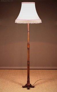 Antiques Atlas - Mahogany Standard Lamp C.1920.