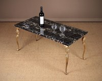 Marble Top Coffee Table C.1930. - Antiques Atlas