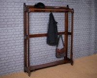 Oak Hallway Coat Rack C.1905. - Antiques Atlas