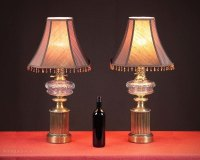Antiques Atlas - Pair Of Paul Hanson Table Lamps C.1940.