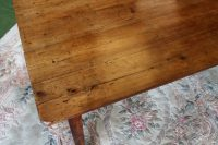 Rustic French Farmhouse Kitchen Table C.1820. - Antiques Atlas