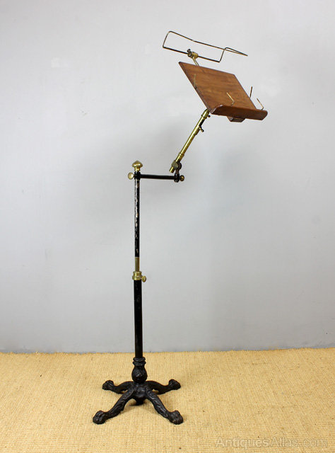 ball chair for sale hanging bubble victorian adjustable book stand. - antiques atlas