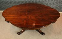 Victorian Rosewood Coffee Table. - Antiques Atlas