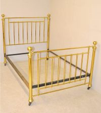 Brass Double Bed - Q3189 - Antiques Atlas