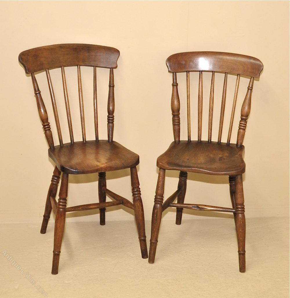 6 Stickback Kitchen Chairs