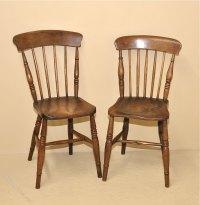 6 Stickback Kitchen Chairs - Antiques Atlas