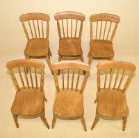 6 Windsor Kitchen Chairs