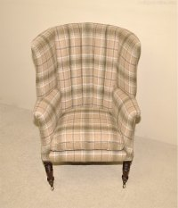 Early Victorian Wing Armchair - Antiques Atlas