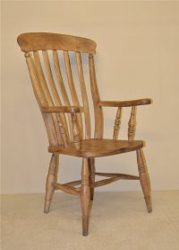 Grandfather Lathback Windsor Chair - Antiques Atlas