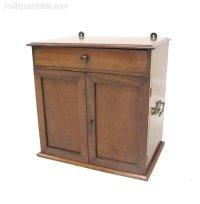 Mahogany Medicine Cabinet - Antiques Atlas