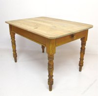 Pine Kitchen Dining Table - Antiques Atlas