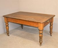 Pine Kitchen Table - Q3350 - Antiques Atlas