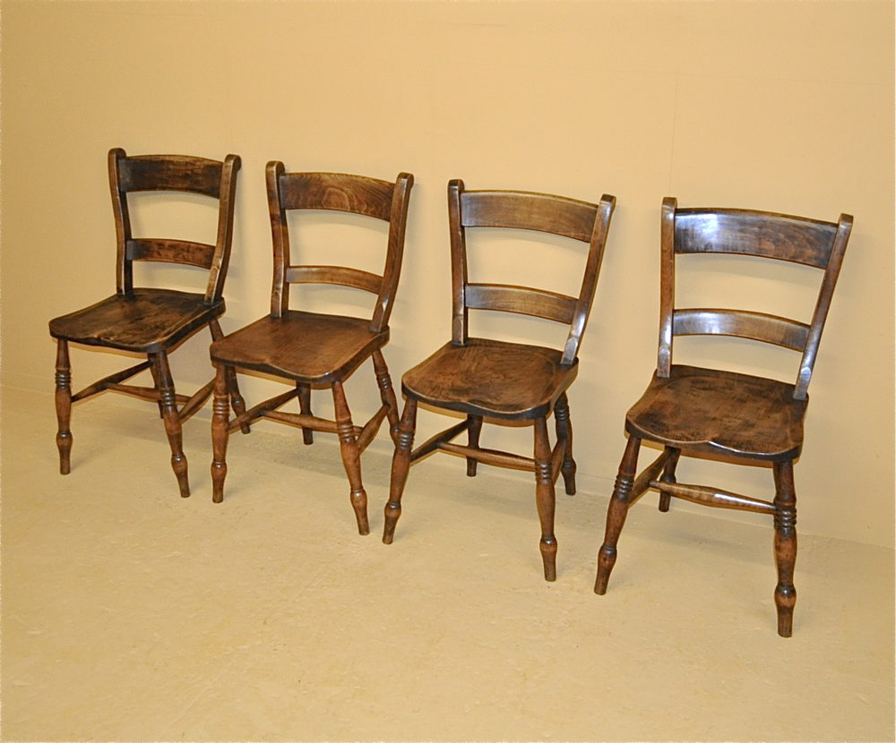 Set Of 4 Kitchen Chairs Set Of 4 Barback Kitchen Chairs R3470 Antiques Atlas