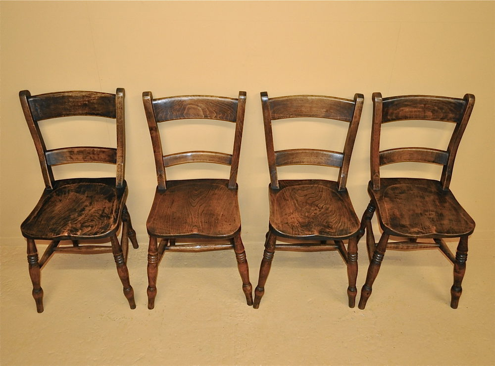 Set Of 4 Barback Kitchen Chairs R3470 Antiques Atlas