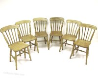 Set Of 6 Kitchen Chairs - Antiques Atlas