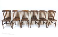 Set Of 6 Windsor Kitchen Chairs - Antiques Atlas